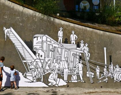 "Gec Art e l'opera di arte pubblica ""Wine in Progress"""